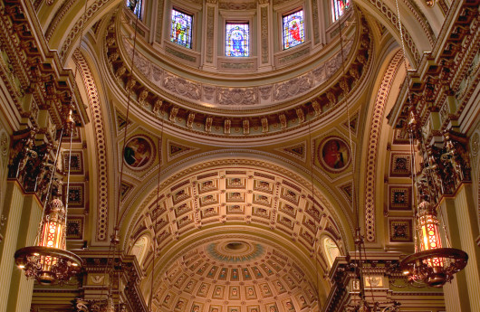 CATHEDRAL BASILICA of SAINTS PETER & PAUL / Philadelphia, PA